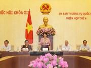 Communiqué de la 4e réunion du Comité permament de l'Assemblée nationale