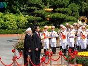 Déclaration commune Vietnam-Iran