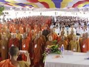 Le 35e anniversaire de l'Eglise bouddhique du Vietnam célébré à Kien Giang