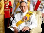 Décès du roi de Thaïlande