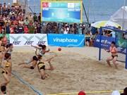 Jeux asiatiques de plage, une performance en trompe-l'œil