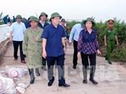 Assurer la sécurité des habitants face au typhon Sarika
