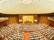 Première journée de travail de la 2e session de la 14e législature de l'AN