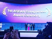 """Une femme vietnamienne reçoit  le Prix d'""""Entrepreneur de l'ASEAN 2016"""""""