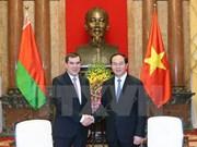Le Vietnam et la Biélorussie souhaitent renforcer leur coopération intégrale