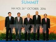 Déclaration commune du 8e Sommet de la CLMV à Hanoi