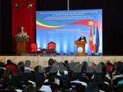 Le Président d'Irlande s'adresse aux étudiants de l'Université nationale de Hanoi