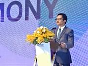 Le vice-PM Vu Duc Dam à la fête des start-up