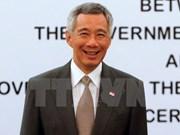 Le Premier ministre singapourien Lee Hsien Loong en visite en Indonésie