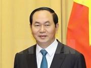 Le président Tran Dai Quang et son épouse effectueront une visite d'Etat en Italie