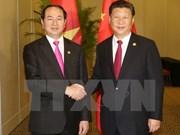 Activités du président Tran Dai Quang au Pérou