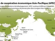 Forum de coopération économique Asie-Pacifique en infographie