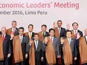 Le président Tran Dai Quang à la première séance plénière du Sommet de l'APEC 2016