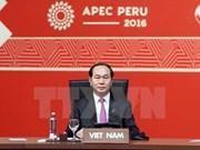 Le Vietnam présent au Sommet de l'APEC 2016 et à ses conférence connexes