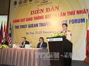 Clôture du premier forum de la police de la route de l'ASEAN