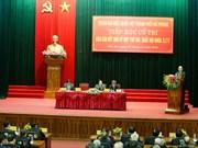 Le PM Nguyen Xuan Phuc rencontre des électeurs de Hai Phong