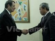 Le Vietnam et la République de Chypre intensifient leur coopération
