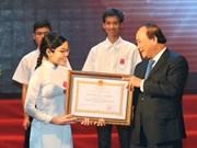 Le chef du gouvernement félicite les lauréats des olympiades