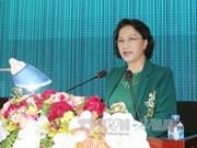 La présidente de l'Assemblée nationale rencontre l'électorat de la 9e zone militaire
