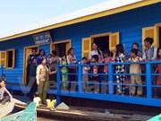 Inauguration d'une école pour enfants Viet kieu au Cambodge