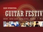 Ouverture du Festival International de la guitare à Ho Chi Minh-Ville