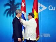L'ambassadeur vietnamien à Cuba à l'honneur