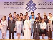 Le Vietnam participe au 11e Sommet mondial des présidentes de parlement