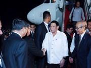 Le président philippin entame sa visite d'Etat au Cambodge