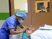 Aide pour des patients laotiens atteints d'affections ophtalmologiques
