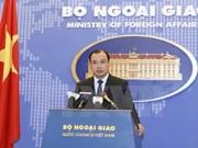 La Chine doit mettre fin aux actes violant la souveraineté du Vietnam sur l'archipel de Hoang Sa