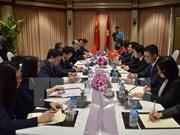 Activités de Pham Binh Minh en marge de la conférence Mékong-Lancang