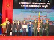 Réalisations impressionnantes de Hai Duong 20 ans après sa refondation