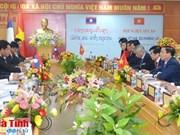 Renforcement des relations d'amitié et de la coopération entre Hà Tinh et Bolykhamsay