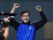 Hoang Xuan Vinh élu meilleur sportif vietnamien de 2016