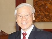 Le leader du PCV Nguyên Phu Trong effectuera une visite officielle en Chine