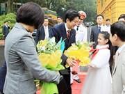 Le Premier ministre japonais attendu au Vietnam