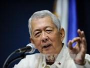 Les Philippines espèrent l'achèvement du Code de conduite en Mer Orientale à mi-2017