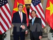 Le secrétaire d'Etat des Etats-Unis John Kerry en visite au Vietnam