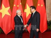 Entrevue entre Nguyen Phu Trong et Li Keqiang