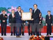 Remise du prix Hô Chi Minh à des scientifiques