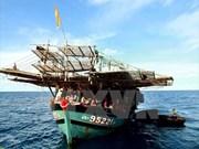 Phu Yên remet des pêcheurs philippins