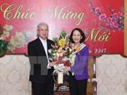 Rencontre des délégations de dignitaires religieux à l'occasion du Nouvel An lunaire