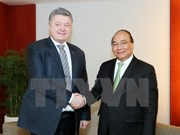 Activités du Premier ministre Nguyên Xuân Phuc à Davos