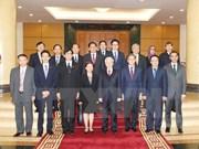 Le leader du Parti reçoit les représentants diplomatiques des membres de l'ASEAN