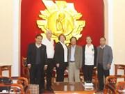 L'Association Vietnam-Etats-Unis rencontre des vétérans de guerre américains