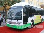 Hai Phong expérimente son 1er bus électrique alimenté grâce à l'énergie solaire