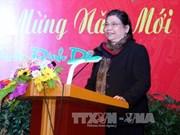 La vice-présidente de l'AN Tong Thi Phong en visite à New York