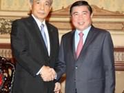 Hô Chi Minh-Ville et la préfecture japonaise de Gunma promeuvent leur coopération