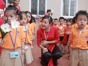 Soc Trang permet aux enfants de cinq ans d'accéder à l'éducation préscolaire