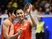 Le Japon remporte le tournoi des équipes mixte d'Asie de badminton 2017